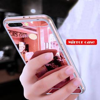 For Xaiomi Redmi 6 6A 6Pro Redmi Note 5 5A 5 Plus 4 4X Case Luxury Soft TPU Mirror Cover Case For