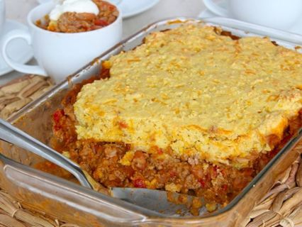 chili cornbread casserole recipe + 2 bonus recipes