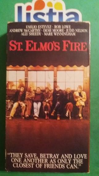 VHS movie  st. elmos fire  free shipping