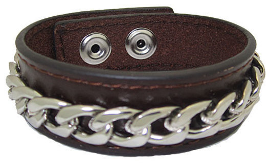 DESIGNER LEATHER CUFF BANGLE BRACELET with 18 KARAT GOLD NEW YOUR COLOR ORANGE BROWN OR BLUE!!!!