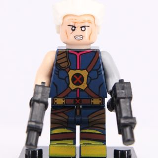 New Exclusive Cable Minifigure Building Toy Custom Lego