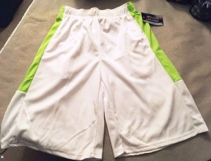 NEW Elastic Waist Shorts XXL Stretchy Pull String Pockets FREE SHIPPING