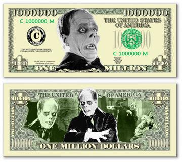 Phantom of the Opera Million $ Bill. NEW