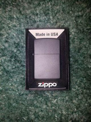 Brand new Zippo lighter matte black
