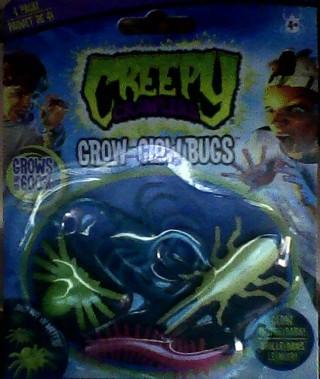 Creepy Crawlers Grow and Glow age 4+