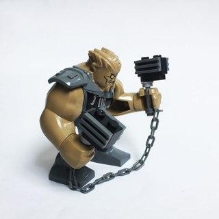 New Big Cull Obsidian Minifigure Building Toy Custom Lego