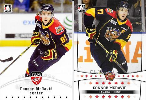 Connor McDavid Pre-NHL Hockey Cards