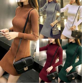 Sweater Dress Jumper Knitwear (autumn winter)
