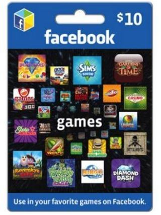 Free: Facebook Games $10 eGift Card (Email Delivery) - Video