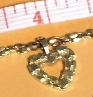 """♥️""""12K"""" Gold Heart Bracelet♥️Please Read Discription"""