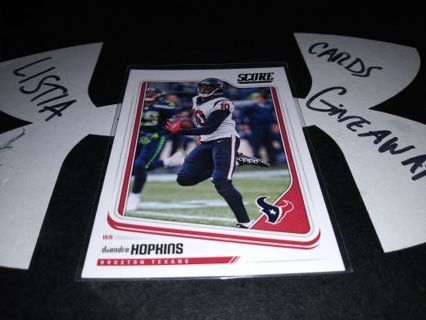 2018 Score Deandre Hopkins Texans