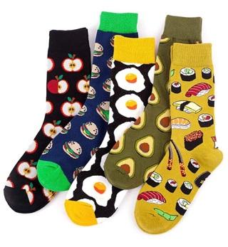 Funny Food Socks (5 pairs)