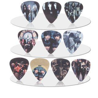 SOACH 10pcs 0.71mm Guns N 'Roses band quality two side earrings Accessories pick DIY design guitar