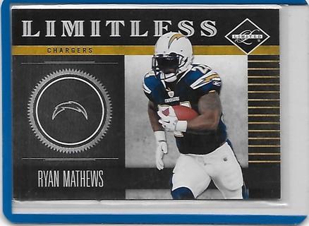 Ryan Mathews 2011 Limited Limitless #9 /249