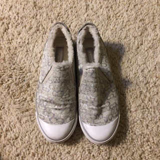 Coach shoes for women size 7.5 like new ship $3.00