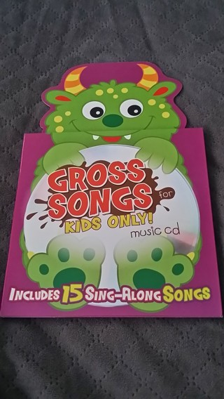 Gross Songs for Kids Only! Music CD Included / Free Shipping / Low GIN