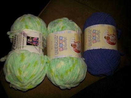 Free: Baby blanket yarn from a c Moore!!! - Crochet - Listia com