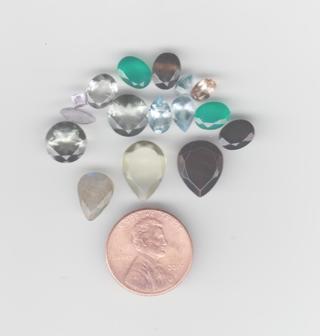 Cut Gemstones (as shown) Loose (set 2)