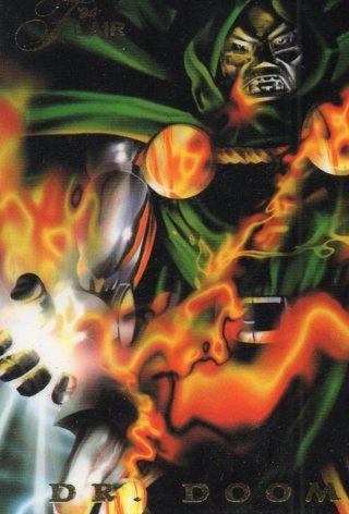 1995 Marvel Comic Trade Card: Dr Doom