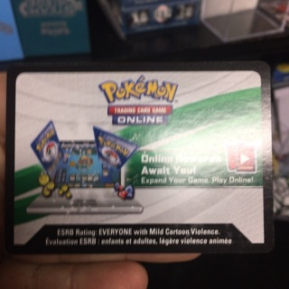 Pokemon XY Ancient Origins TCGO digital code