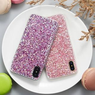 Soft Silicone Bling Glitter Shockproof Slim Case Cover For iPhone XS Max XR 7 8
