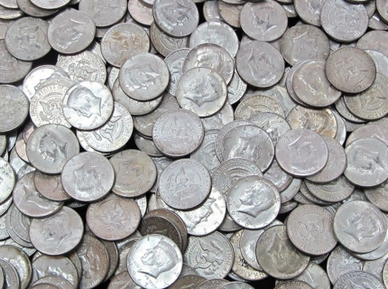 6 - 40% Silver 50 Cent Kennedy Coins - Best Offer Accepted