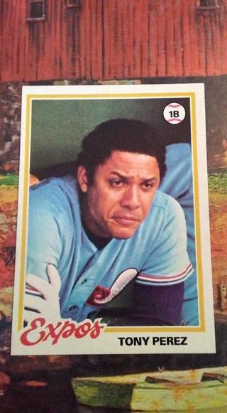 1978 Topps - Tony Perez
