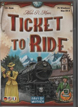 PC Game: Ticket to ride * Version PC/Mac os