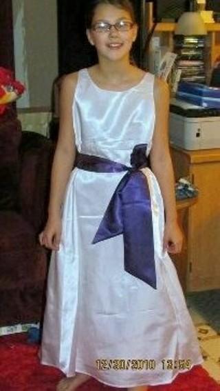 Flowergirl Dress size 10/12