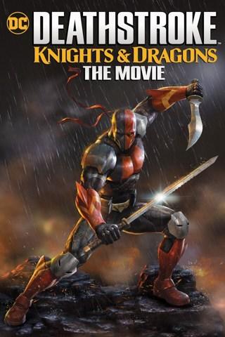 Deathstroke Knights & Dragons The Movie HD Digital Copy Code