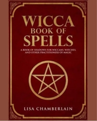 WICCA BOOK OF SPELLS⭐️BRAND NEW HARDCOVER BOOK⭐️FREE SHIPPING!