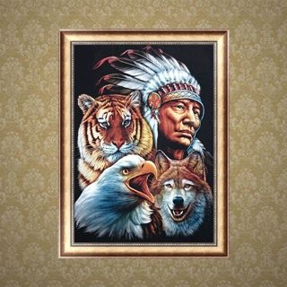 Aboriginal Animals DIY 5D Diamond Embroidery Painting Art Cross Stitch Craft