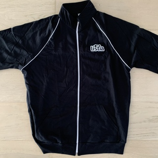 Listia American Apparel Black Track Jacket XL