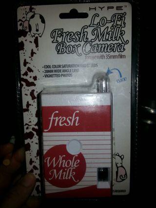 Lo-Fi Fresh Milk Box Camera- 35mm film..