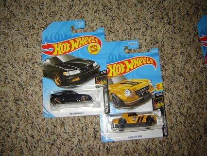 NIP'S! 2 Hot Wheels Nightburnerz 3/10 and 10/10