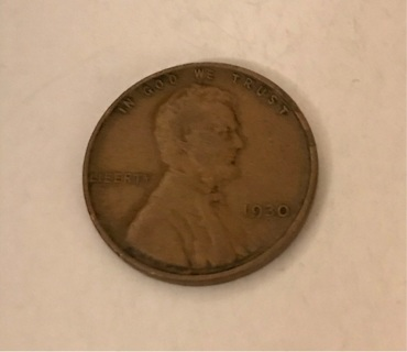 1930 Wheat Cent Lincoln Penny