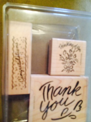 Stampin Up Set 2 Great for Gift Card Making!