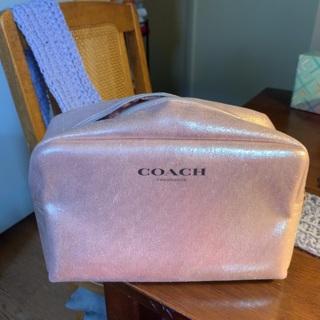 Coach makeup holder