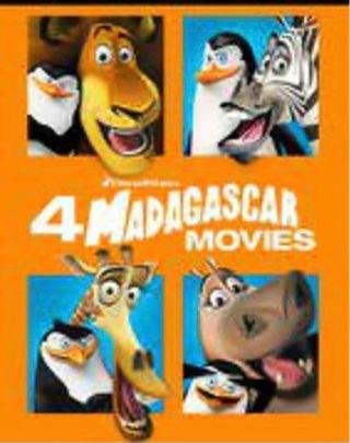 Madagascar 4 Movie Collection HD MA copy