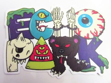 KEEP WATCH- ECHO PARK Vinyl Sticker- Helmet/Car/Skateboard/Business/Crafts