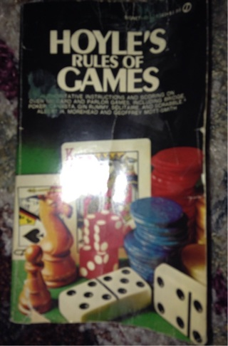 Hoyle's Rules of Games by Albert H. Morehead, Geoffrey Mott-Smith