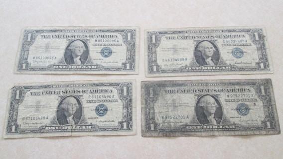 4 Silver Certificates