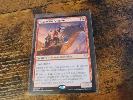 Magic the gathering mtg Dragonkin Berserker rare card