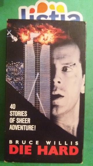 VHS  movie  die hard   free shipping