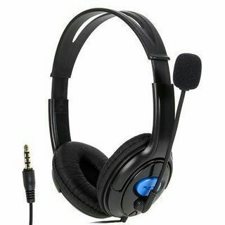 Wired Stereo Gaming Headset Headphone w/ Microphone for Sony PlayStation 4 PS4