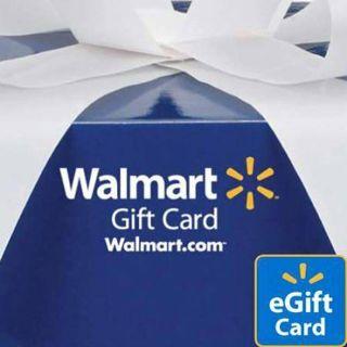 $5 Amazon or Wal-Mart digital card