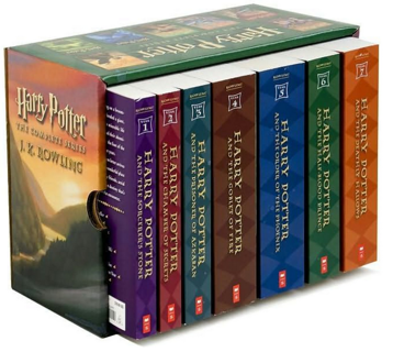 HARRY POTTER PAPERBACK BOXED SET, COMPLETE BOOKS SERIES 1-7