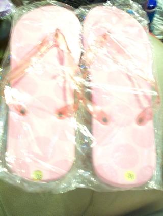 Sunsilk Pink Flipflops,Size 9, New