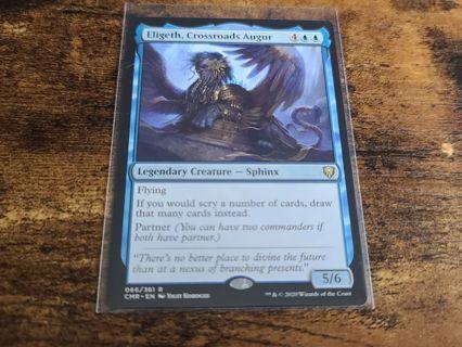 Magic the gathering mtg Eligeth Crossroads Augur rare card Commander Legends