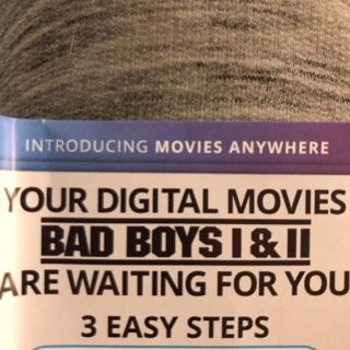 Bad Boys 1,2 and 3 MA CODE (HD)